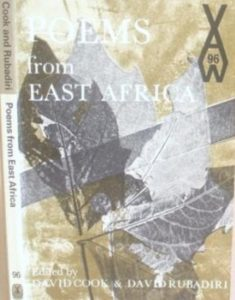 Henry Barlow's 'Building the Nation . . . Different Ways', is published in Poems from East Africa, an anthology edited by David Cook and David Rubadiri and published in 1971 by Heinemann.