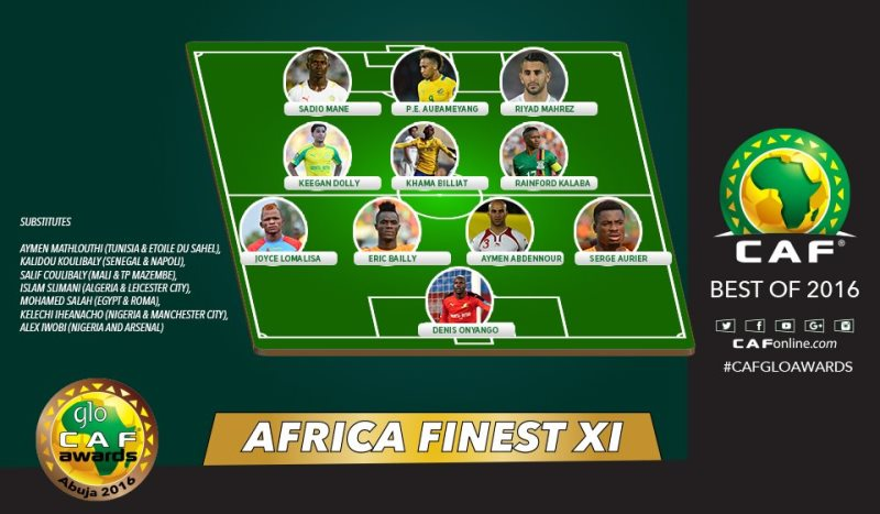 Africa's First 11 Soccer Players.