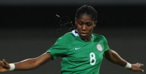 Asisat Oshoala of Nigeria won the CAF Women's Player of the Year award.