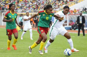 It was an Indomitable Lionesses versus Super Falcons' final as Cameroon sought to beat Nigeria in 12th AWCON on December 3, 2016.