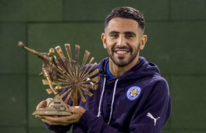 Algeria's Riyad Mahrez won the BBC African Footballer of the Year award in 2016.