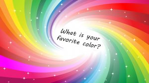 What your favorite colour says about you. A geauganews.com image.