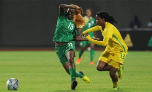 South Africa lost 1-0 to Nigeria in the semi-final of AWCON 2016