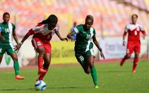 Kenya's Harambee Starlets lost to Nigeria's Super Falcons 4-0 in the preliminary AWCON 2016 group stage.