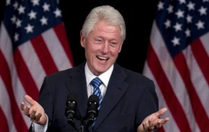 William Jefferson Clinton, popularly known as Bill Clinton, served as the 42nd President of he United States of America.