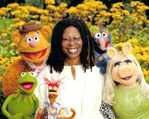 Whoopi Goldberg, world-famous Hollywood actress, is left-handed.