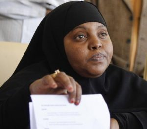 Nasra Ibrahim, Women's Representative for Marsabit County, north-eastern Kenya.
