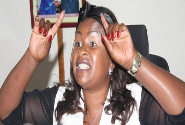 Wavinya Ndeti seeks the Governor's position for Machakos County in eastern Kenya.