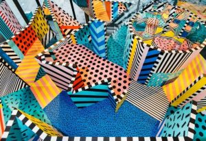 Spot the Difference in Camille Walala's Puzzle on the Peninsula