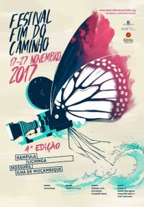 Festival Fim do Caminho is described as a celebration of Mozambican literature and cinema