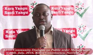 "The Government banned banned the operations of, ""Kura Yangu, Sauti Yangu"" on November 6, 2017."