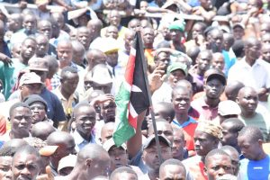 Uhuru Park bursting at the seams with NASA supporters