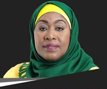 Samia Hassan Suluhu, from Zanzibar, is Tanzania's Vice-President