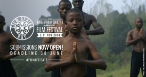 Royal African Society's Film Africa 2018 invites the best African and African Diaspora cinema.