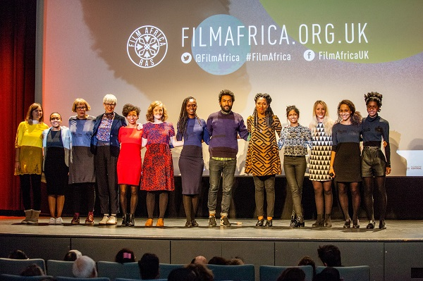 Participants at Film Africa festival in 2016.