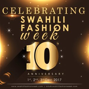 Swahili Fashion Week & Awards provides a platform for fashion and accessory designers from Swahili speaking countries to showcase their talent, market their creativity and network with clients and international fashion industry.