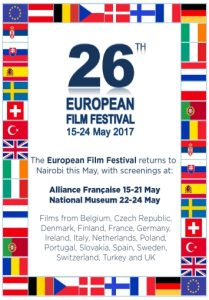 26th European Film Festival to be held at Alliance Francaise and Nairobi National Museum