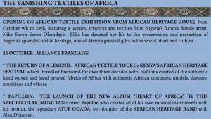 Alliance Francaise of Nairobi exhibits contemporary Nigerian art