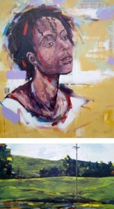 Contemporary Impressionism Exhibitionshow at Norfolk Hotel, Nairobi, shows the work of Coster Ojwang