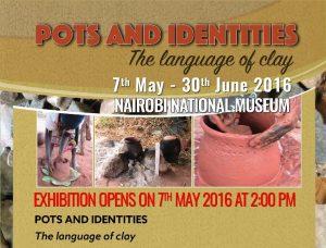 Nairobi Museums Hosts Pots & Identities Exhibit