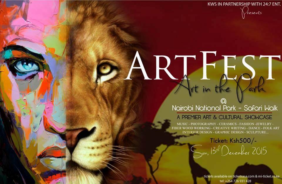 Arts Festival at Nairobi National Park
