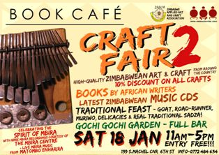 Harare Holds Second Monthly Craft Fair on February 15, 2014