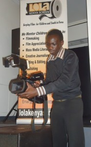 edwin amoro records 9th anniversary proceedings during 80th lola kenya screen film forum on 27.10.14