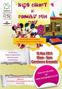 kids craft at carnivore grounds, nairobi