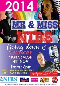 Mr & MissNIBS beauty pageant with jua cali
