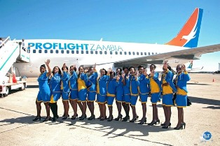 Zambia's Only Scheduled Airline Acquires Boeing 737-200 Aircraft