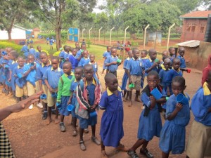 Helping Improve Primary Education in Uganda