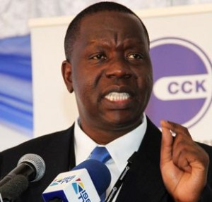 kenya's information communications technology minister fred matiang'i
