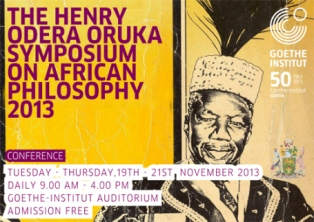 henry odera oruka symposium poster