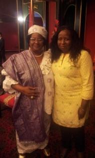 peace anyiam osigwe with malawi president joyce banda