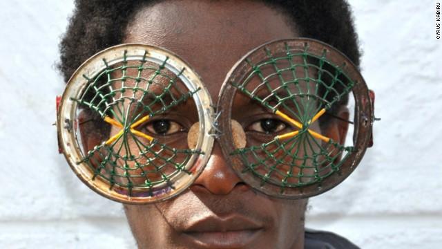 Cyrus Kabiru's spectacular glasses