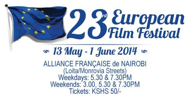nairobi's 23rd european film festival publicity poster