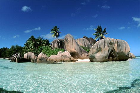 Seychelles indian ocean magic island