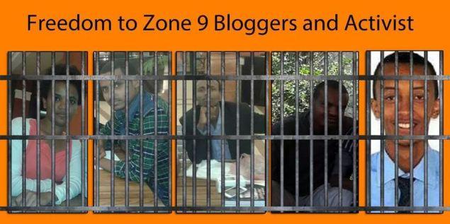ethiopia arrests 3 journalists, 6 bloggers