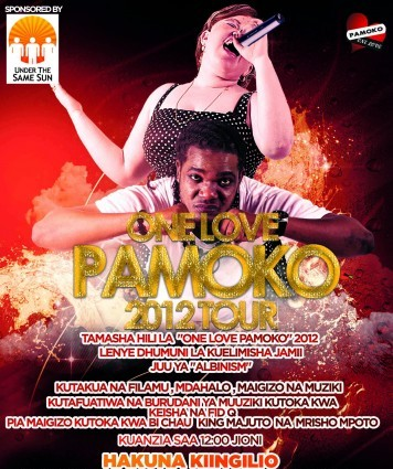 pamoko-concert-tour poster