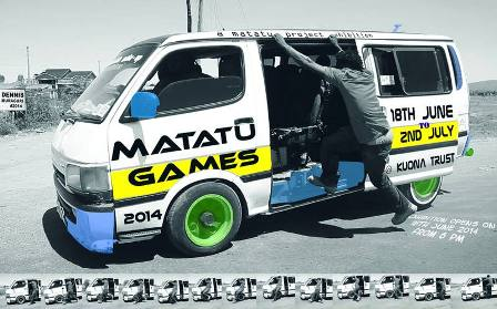 England's Aspex Gallery's Craft Competition Calls for Entries as Kenya's Kuona Plays Matatu Games