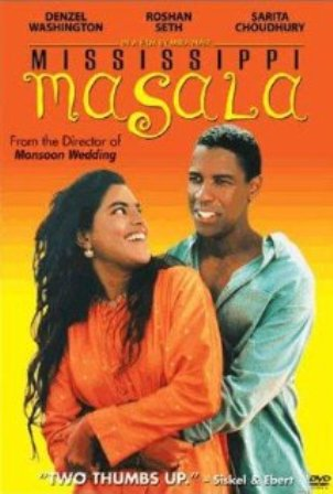 the poster of mississippi masala film in which joseph olita acted