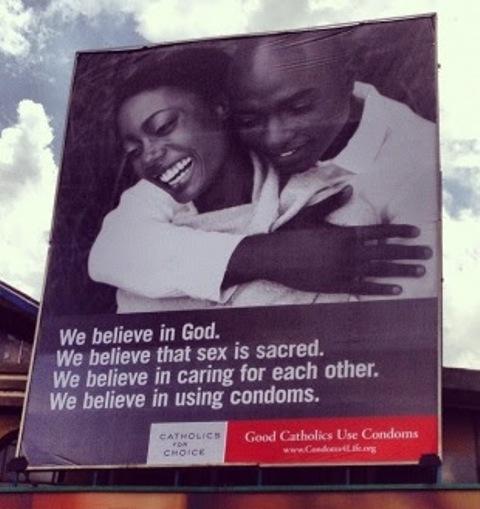 good roman catholics use condoms