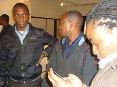 networking at 78th lola kenya screen film forum