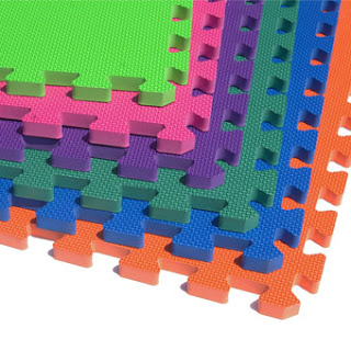 Employ Interlocking Mats for Protection against Injury