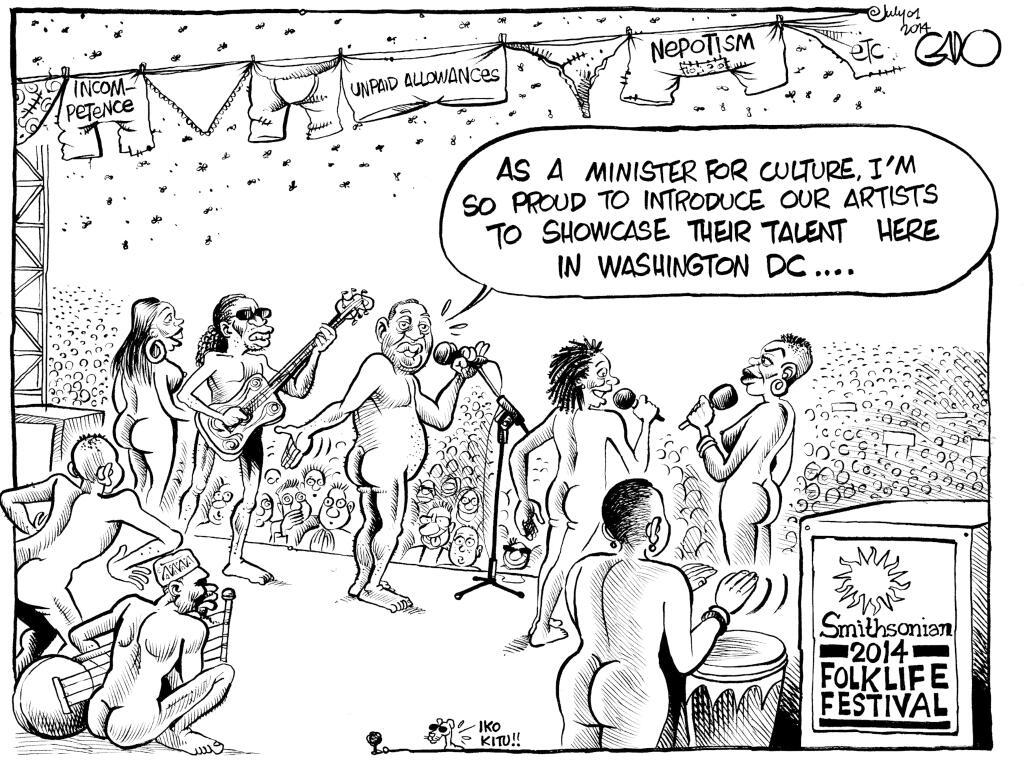 Kenya's SHAME showcase at Smithsonian Folklife Festival 2014