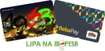 kenya cashless fare payment smart cards