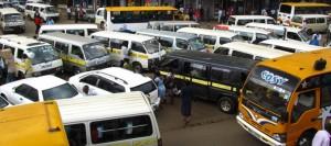 matatu psvs in down town nairobi