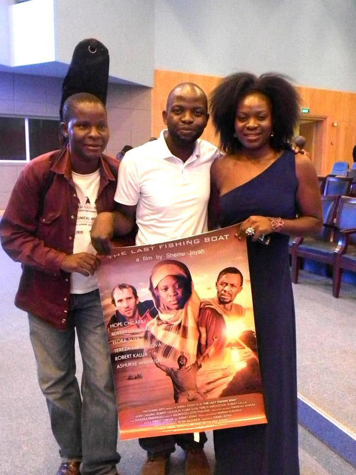 flora suya and cast promoting last fishing boat