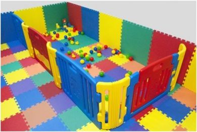 rubber play mats
