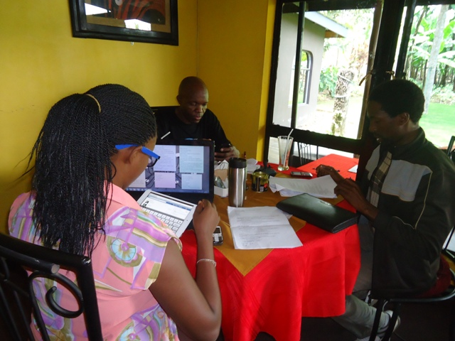 3rd Arusha African Film Festival Documentary Film Jury at Work
